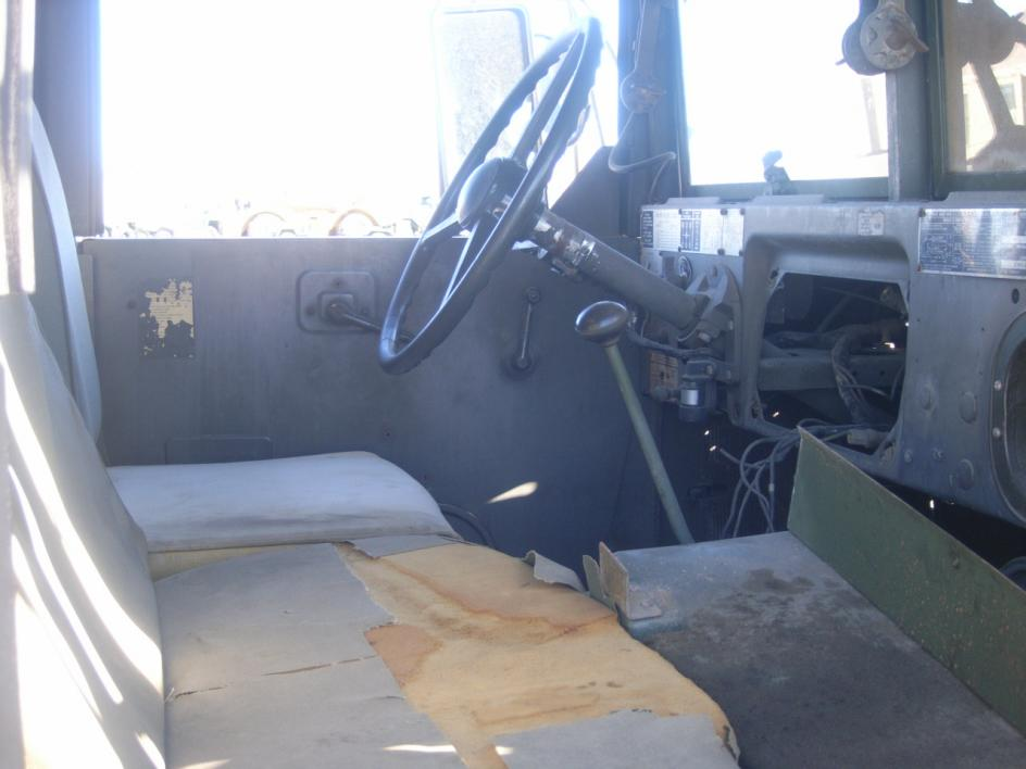 AM General M109A3 6x6 2 1/2-ton shop van truck. Powered by a 6 ...