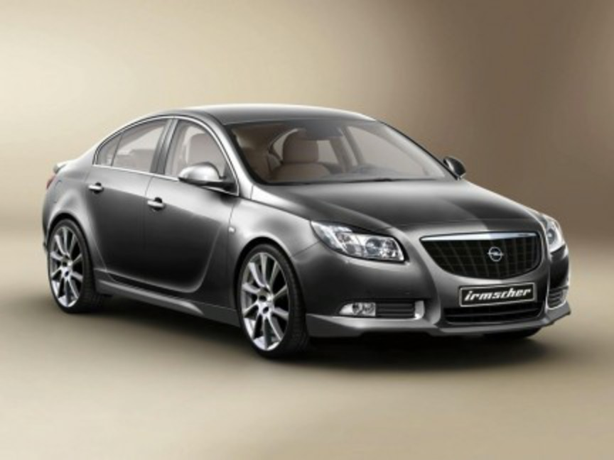 Irmscher Opel Insignia. In occasion of the European launch of the Opel