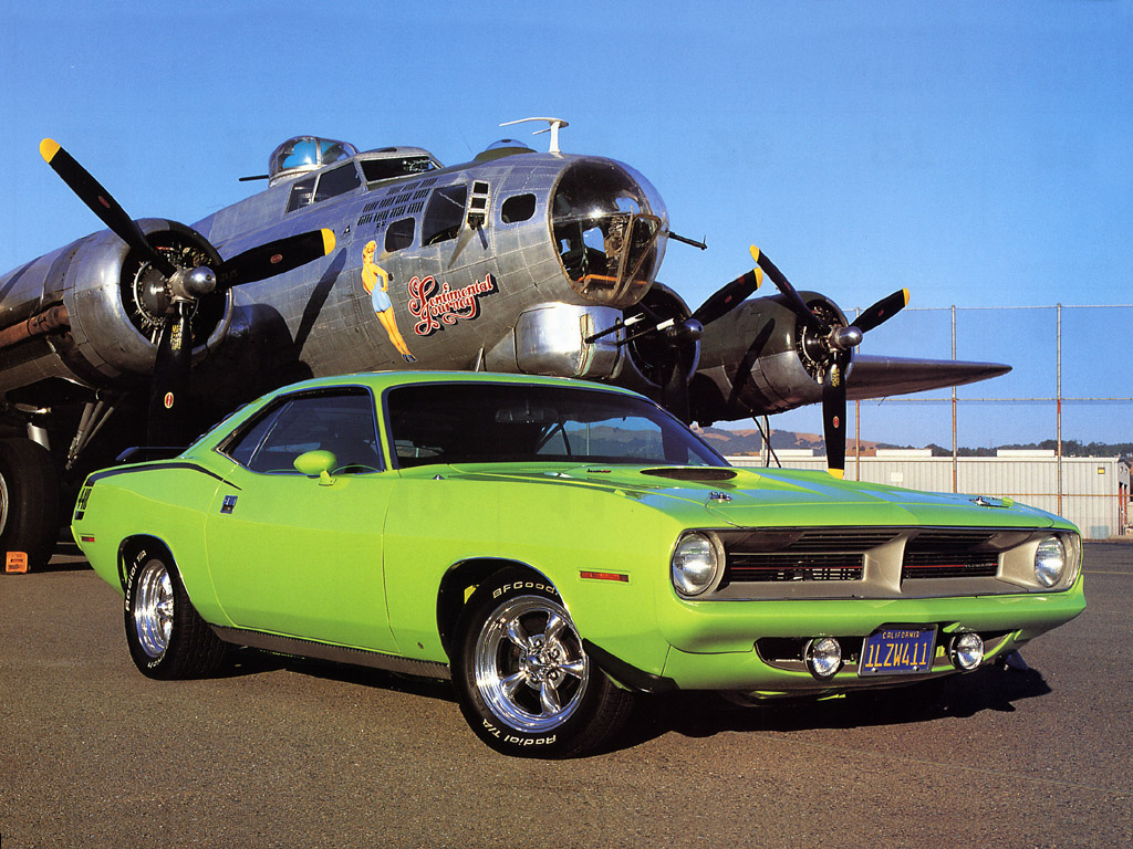 Plymouth Barracuda conv. View Download Wallpaper. 1024x768. Comments
