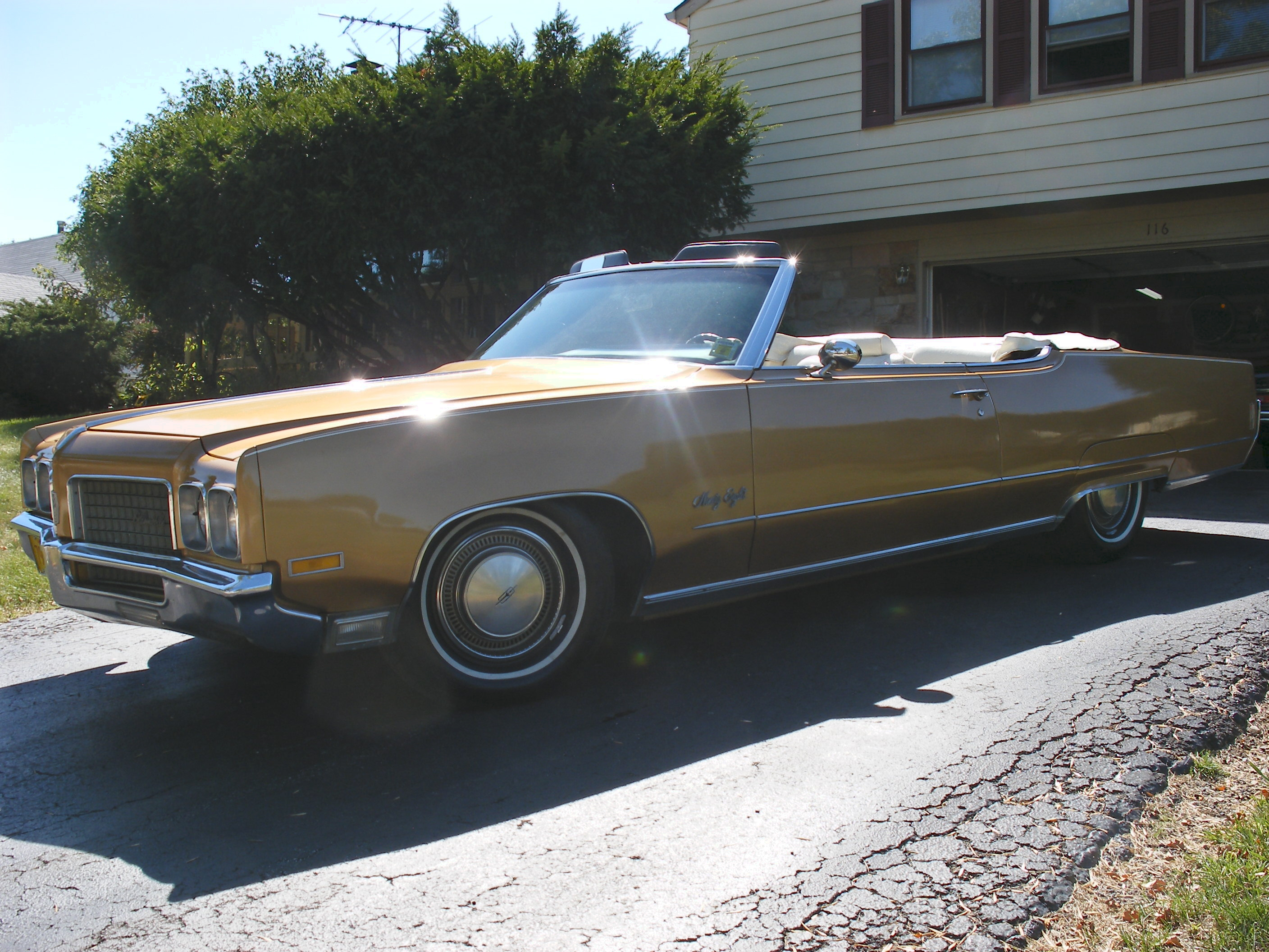 1970 Oldsmobile 98 Convertible, 455 Rocket, Southern Car