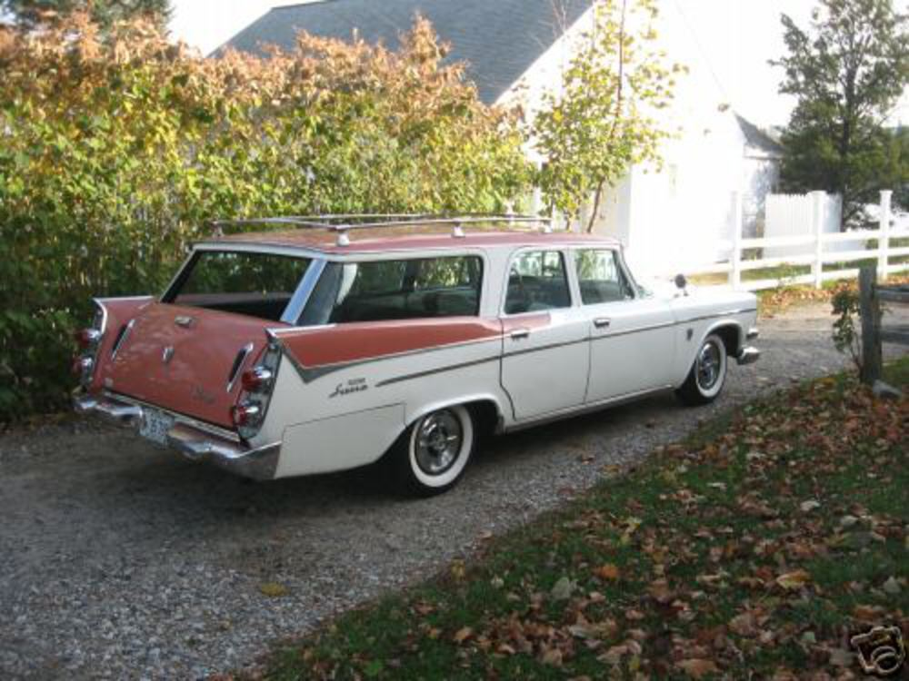Attached Thumbnails. 1958 Dodge Custom Sierra wagon History needed