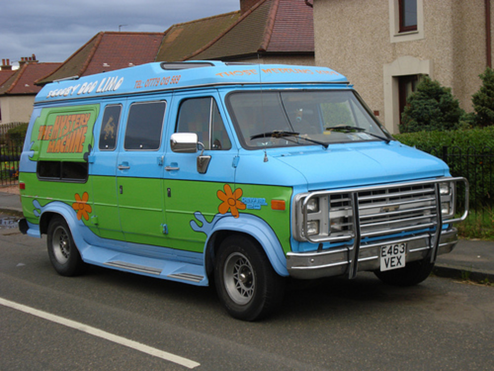 1988 Chevrolet ChevyVan 20. The Mystery Machine.