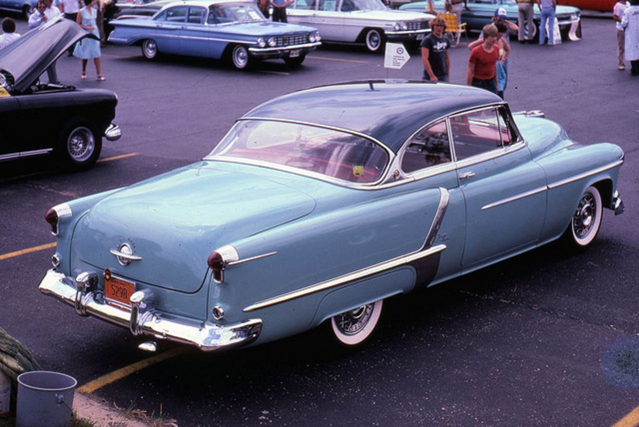1952 Oldsmobile 98 Holiday Coupe