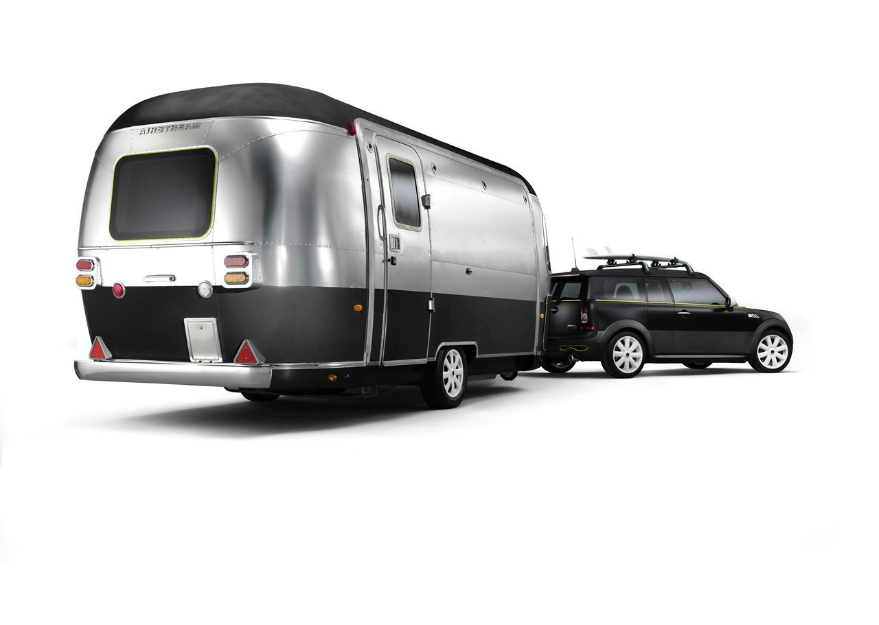 MINI Cooper S Clubman Airstream Design Study Revealed - Photos