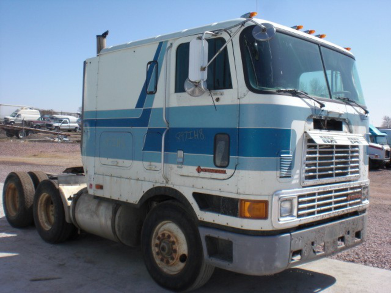 Used International Grille for 1988 International 9700 (1) 24183555 ...