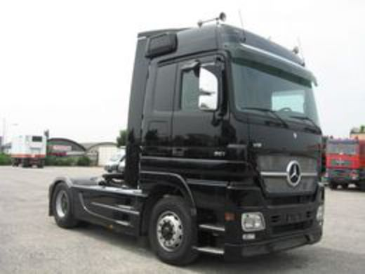 PHOTO MERCEDES BENZ - ACTROS 1861 BLACK EDITION V8