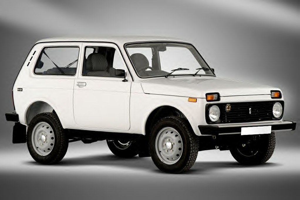 The Lada Niva was assembled in countries like Russia, Colombia, Kazakhstan,