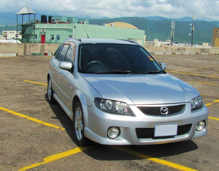 My friend's 2003 mazda familia sport 20. Also for sale if anyone likes: