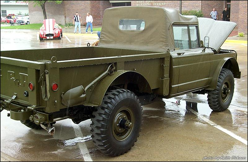 1967 Jeep M715 Military pickup3 Lucksinger =KD= 601of 1298