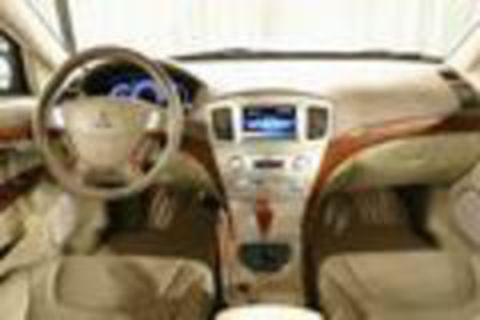 Mitsubishi Grunder Interior