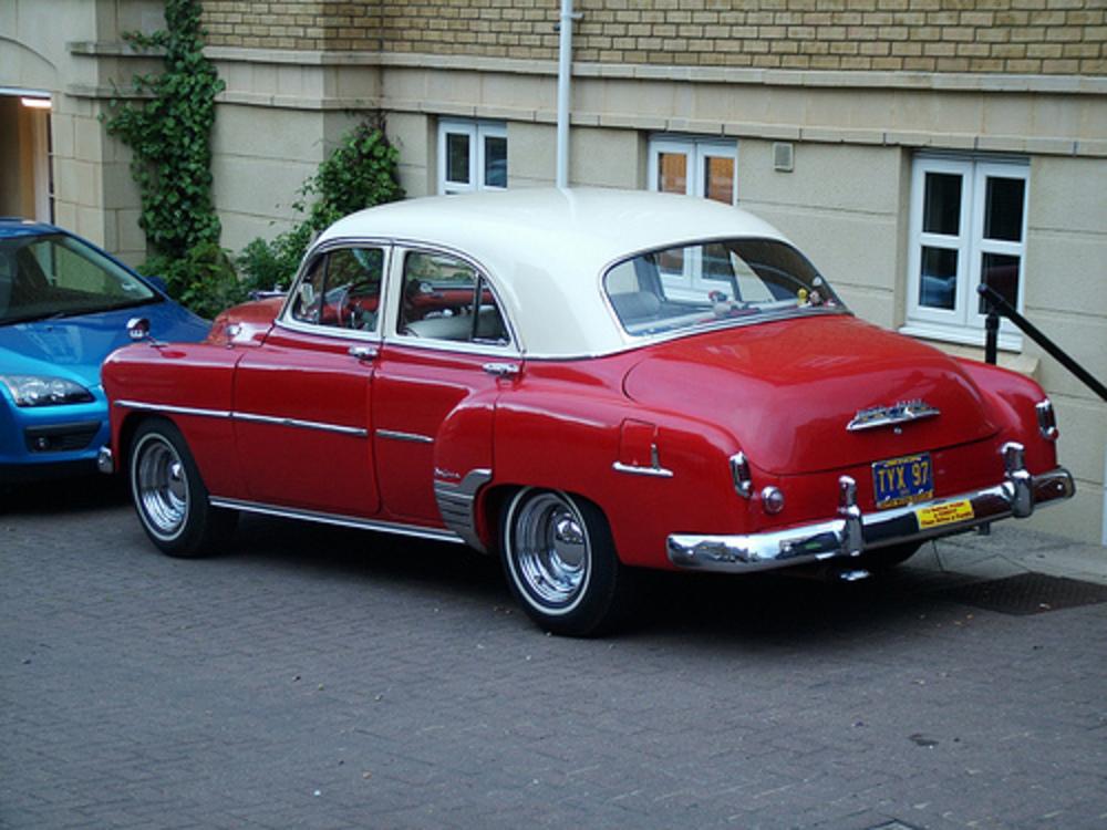 Topworldauto photos of chevrolet styleline de luxxe for 1952 chevrolet styleline deluxe 4 door