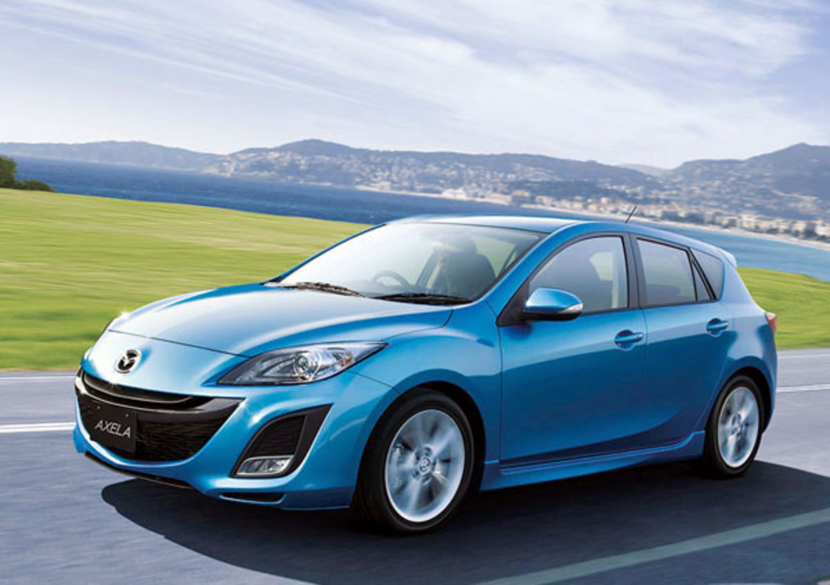 The all-new 2010 Mazda Axela Sport 20S proved to be popular on its first