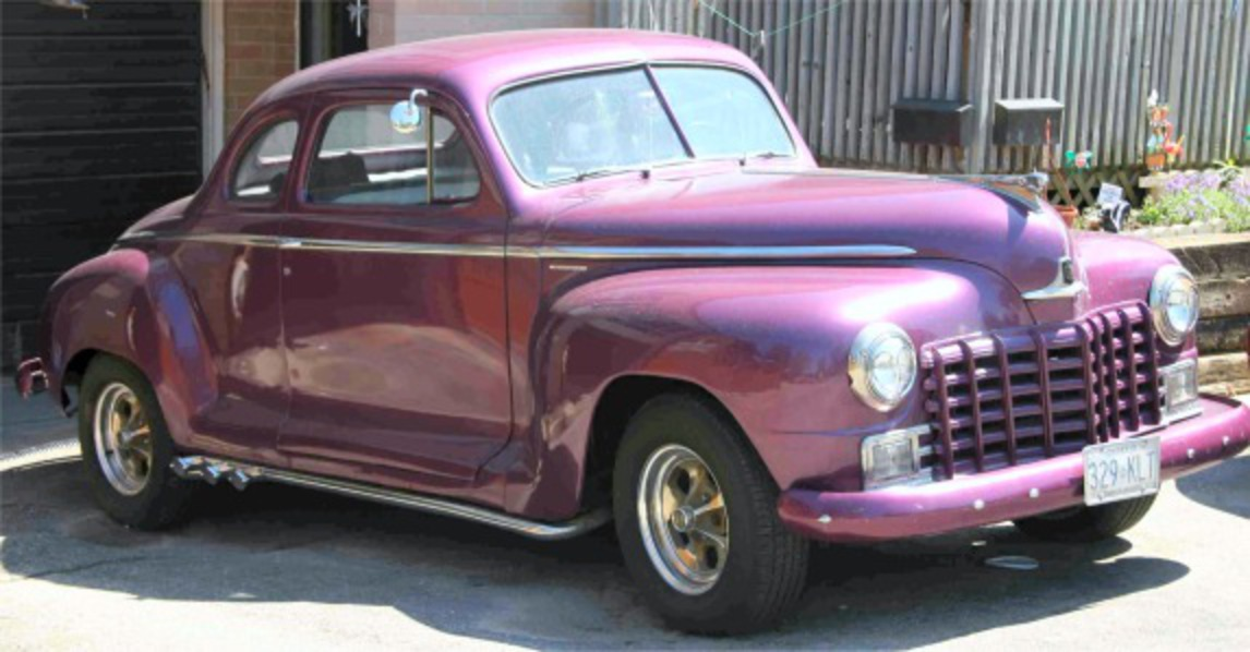 1948 Dodge Business Coupe - Has a 360 in it. It has the 727 Auto and PS, PB.