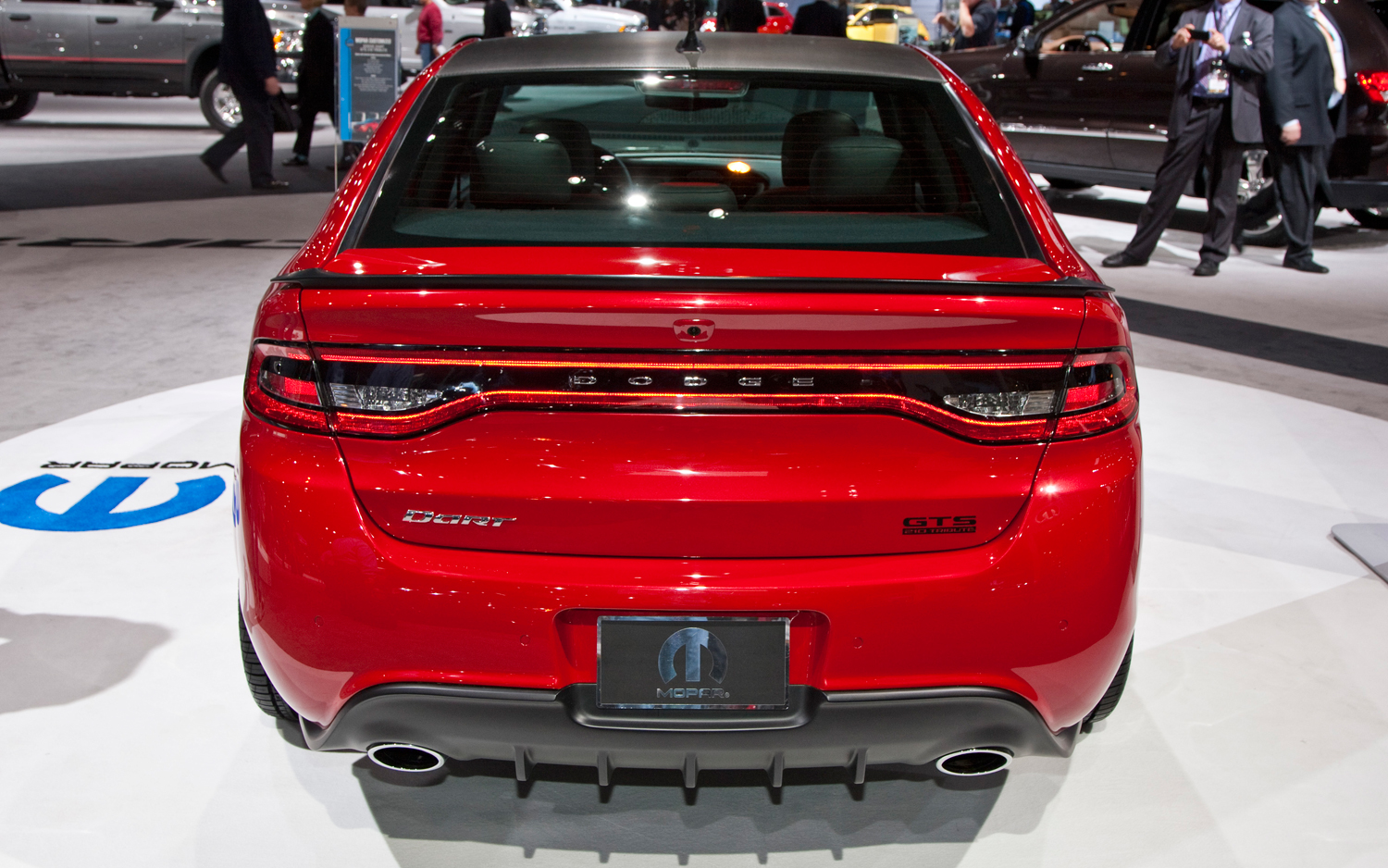 2013 Dodge Dart GTS 210 Tribute Rear View