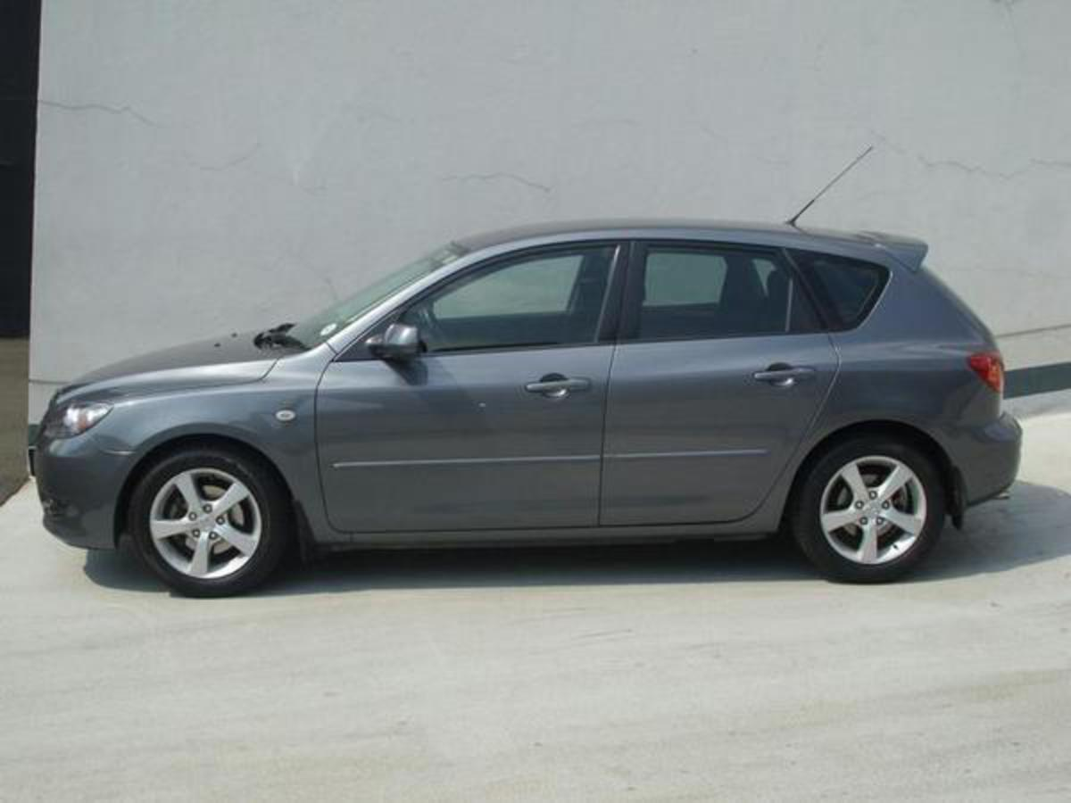 Pictures of 2006 mazda 3 1.6 sport dynamic