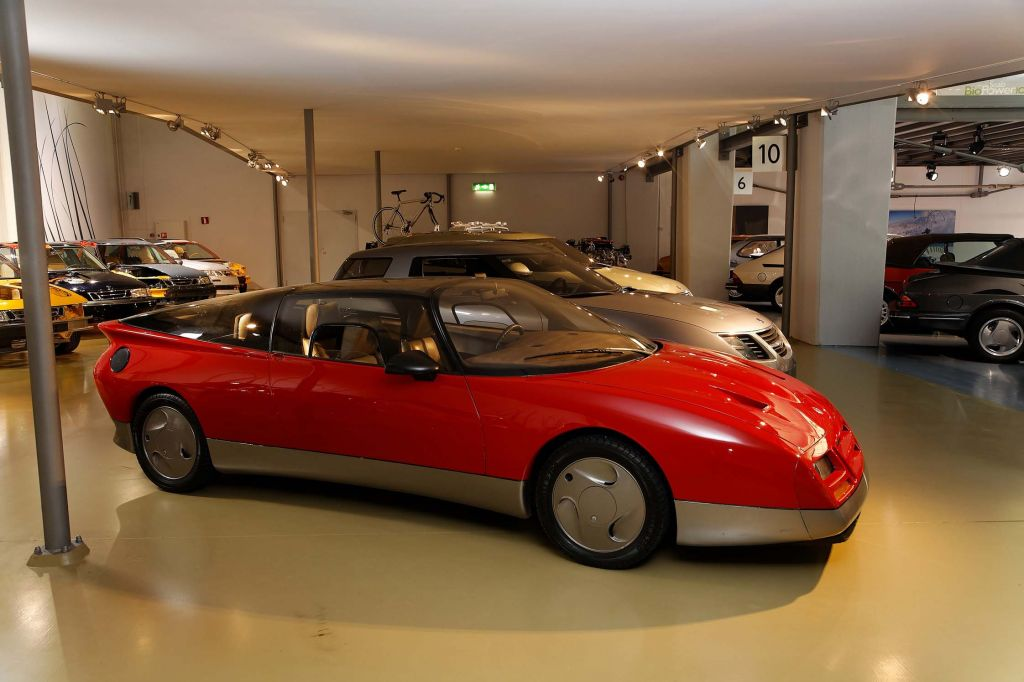 PHOTO VOITURE » CONSTRUCTEUR » PHOTO SAAB » SAAB EV-1 CONCEPT CONCEPT-CAR