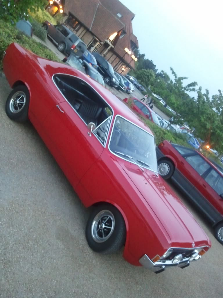 Opel Commodore A Coupe Automatic 2500 G. View Download Wallpaper. 768x1024