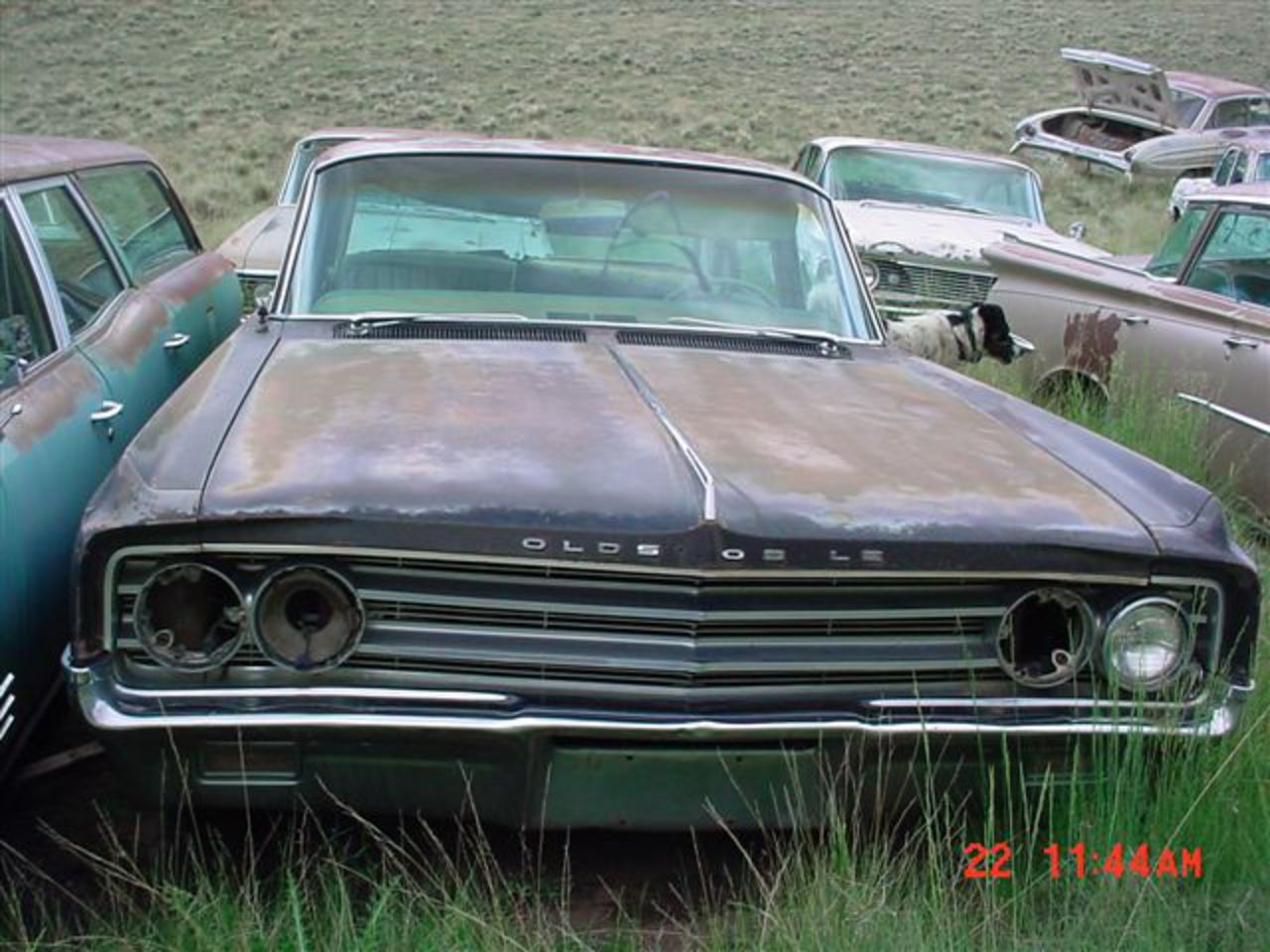 34 1965 or 1966 Oldsmobile 98 4dr HT.JPG. 1965 or 1966 Oldsmobile 98 4 door