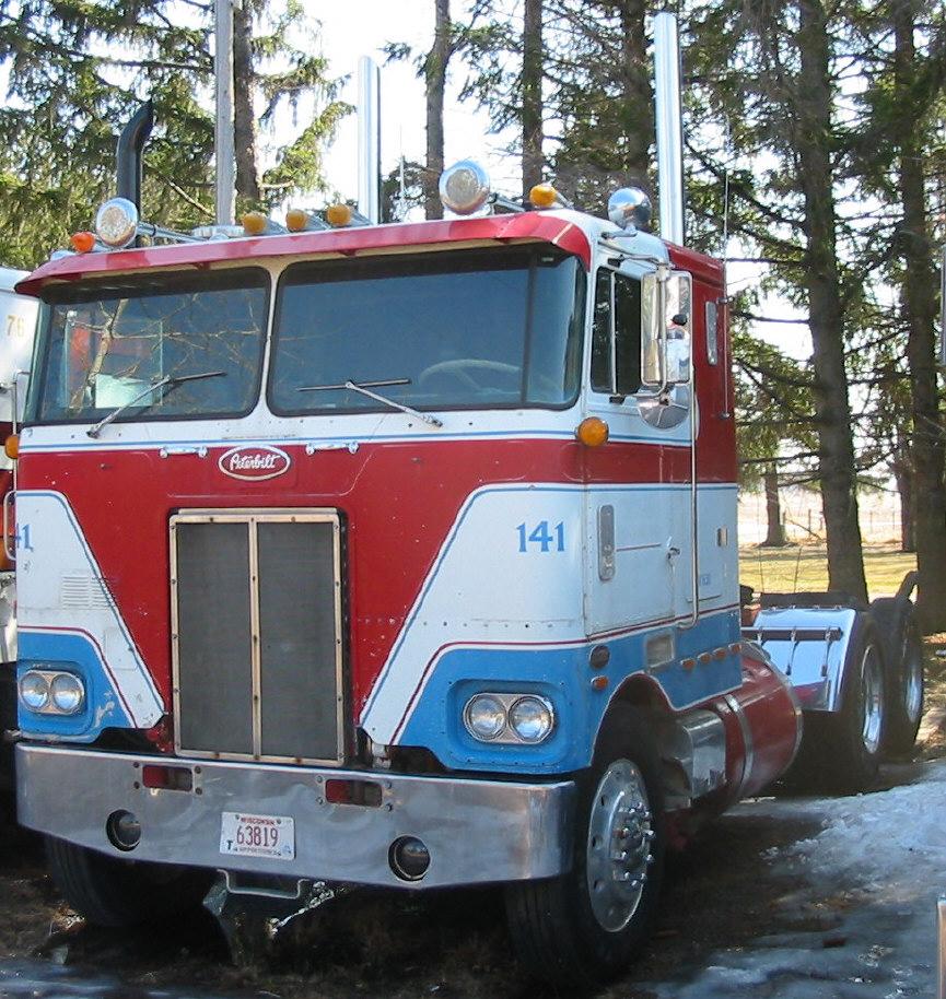 Craigslist Cabover Freightliner: 1977 352 Peterbilt For Sale