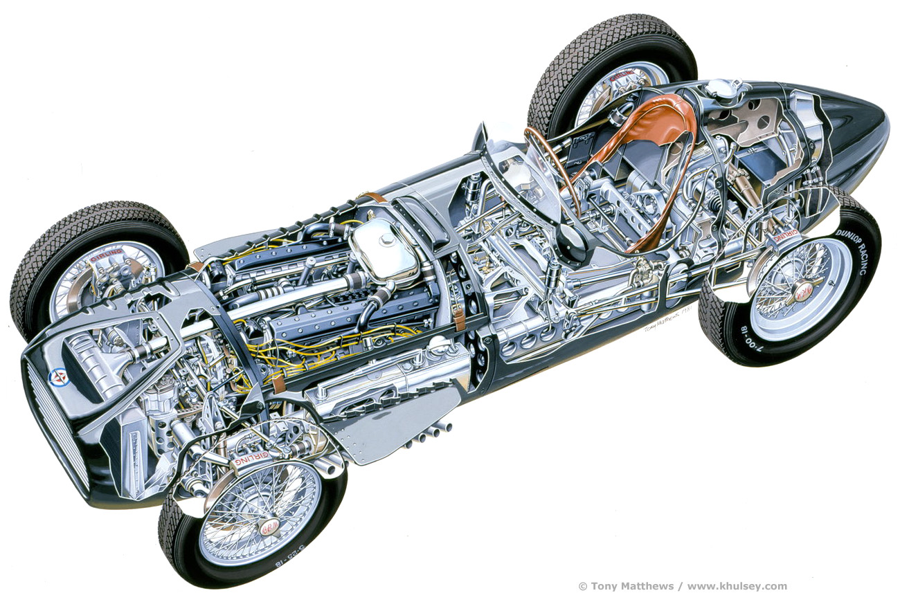 Listen to a Supercharged BRM V-16 from the 1950s - The Drive  |Brm V16 Sound