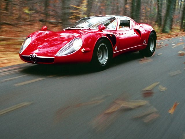 Alfa Romeo 33 stradale, Photo #3
