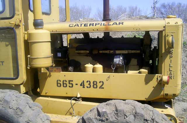 Caterpillar Road grader