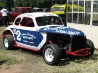 Checker Coupe Johnny Franklin Special Hardtop Race Car