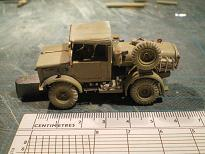Chevrolet 15 cwt 4x4 water bowser