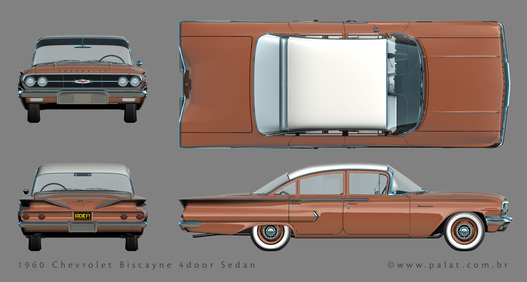 chevrolet biscayne 4 door sedan specs photos videos and more on topworldauto. Black Bedroom Furniture Sets. Home Design Ideas
