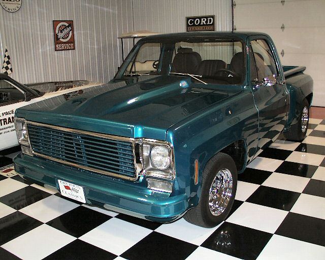 Chevrolet C-10 Custom Stepside, Photo #3