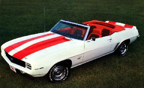 Chevrolet Camaro RS SS 350 convertible