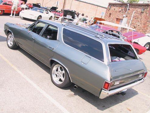 TopWorldAuto >> Photos of Chevrolet Chevelle Malibu wagon - photo