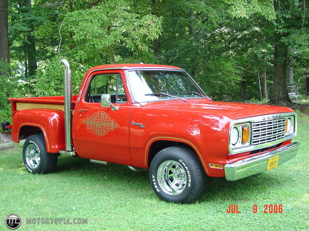 Dodge Custom 150 Lil Red Express Truck - specs, photos, videos and ...