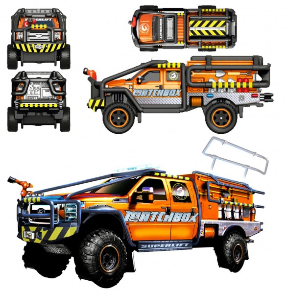 Ford F-350 XL Super Duty brush truck