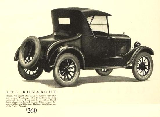 Ford Model T Runabout Roadster