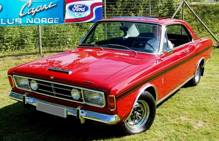 Ford Taunus 20M RS coupe - specs, photos, videos and more