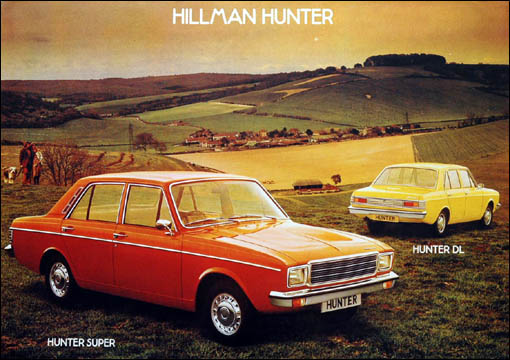 Hillman Hunter Super
