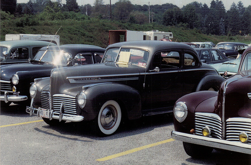 Hudson Super Six club coupe