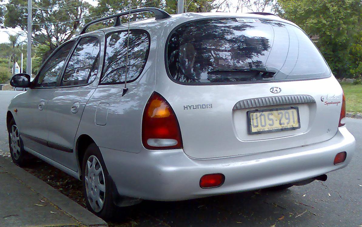 Mini Austin Vtec >> TopWorldAuto >> Photos of Hyundai Lantra Wagon - photo galleries