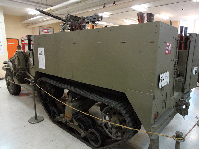 International Harvester M14 15 cwt Half Track