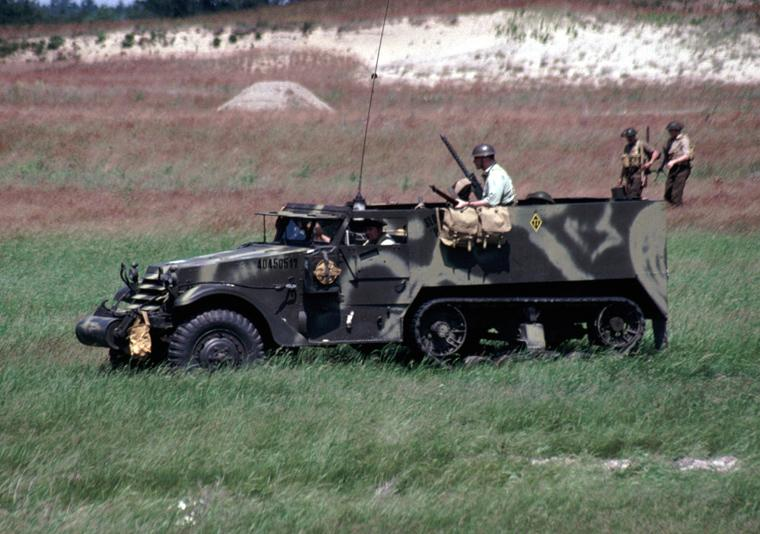 International Harvester M14 Half-Track