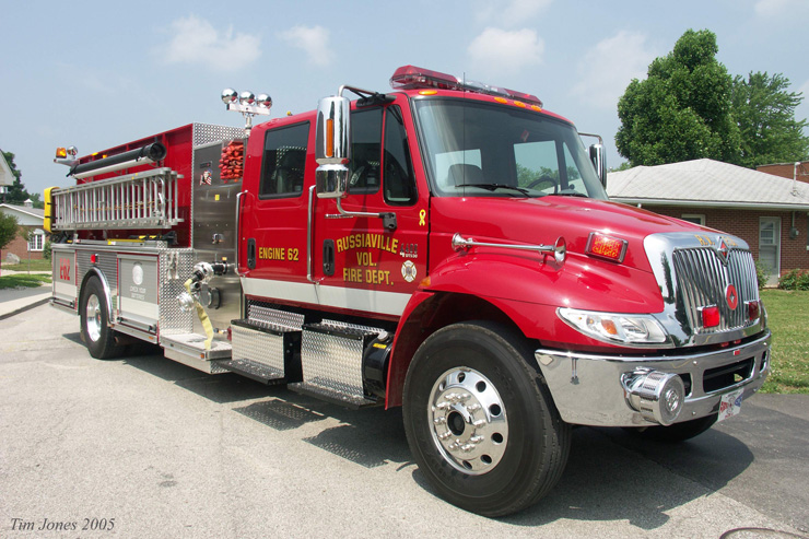 International A150 Fire truck