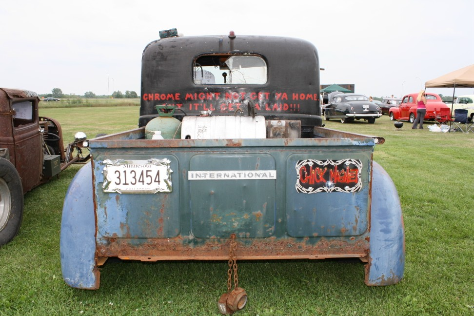 International Rat rod pickup