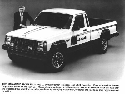 Jeep Comanche pickup