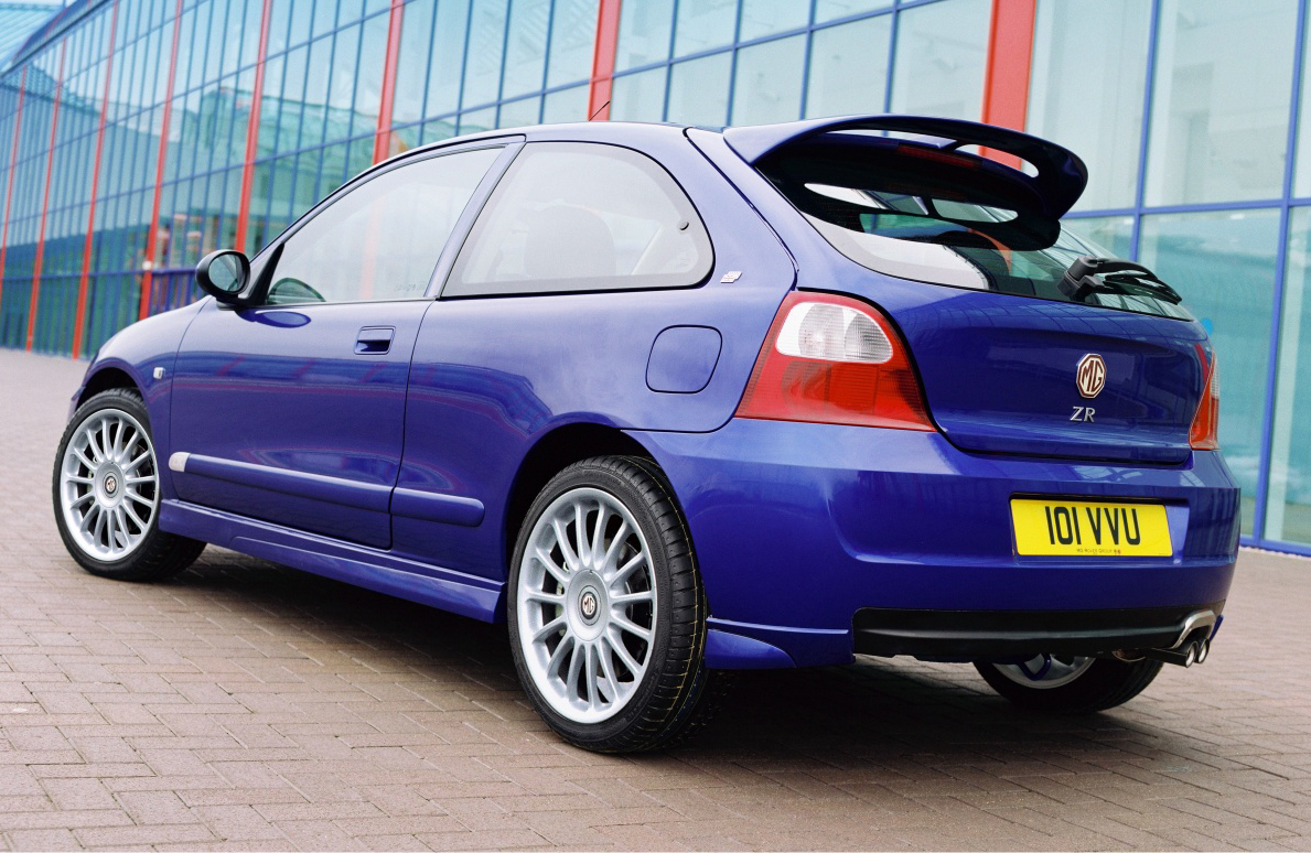 MG ZR 120 Stepspeed Hatch