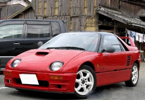 Mazda Autozam 4WD pick up