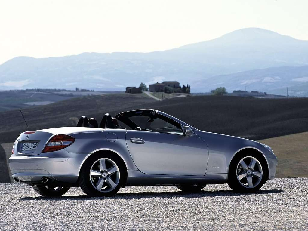 mercedes benz slk 200 kompressor specs photos videos. Black Bedroom Furniture Sets. Home Design Ideas