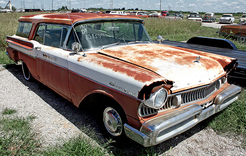 Mercury 2 door station wagon