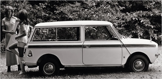 Mini Clubman Estate wagon