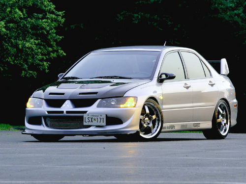 Mitsubishi Lancer Evo VIII Digit Power
